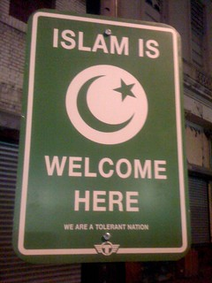 ISLAM IS WELCOME HERE - WE ARE A TOLERANT NATION | by TrustoCorp