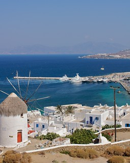 Mykonos view | by Natalia Romay Photography