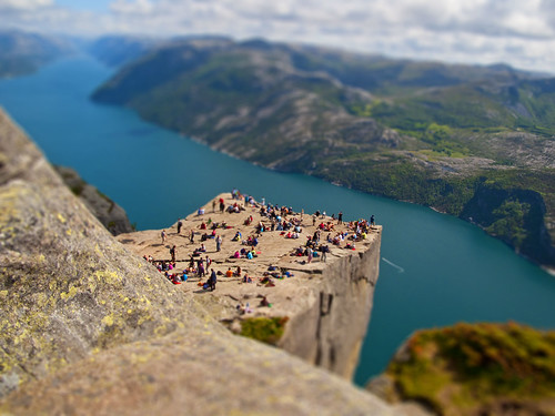 Pulpit rock / Tilt-shift | by dubbelt_halvslag