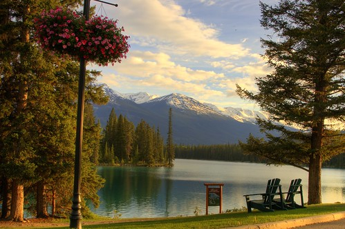 Sunset Time in Jasper Park Lodge | by se-no