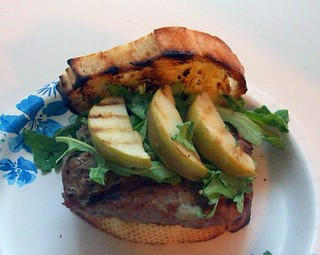 Turkey Burger with Brie and Grilled Apples Megan's Cookin | by CinnamonKitchn