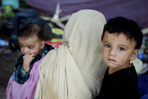 Pakistan's Flood Victims in Makeshift Shelters | by United Nations Photo