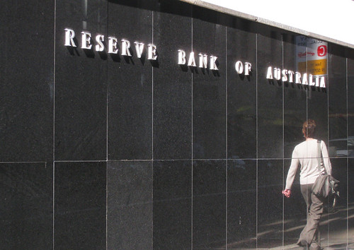 Reserve Bank of Australia in a reflective moment | by Newtown grafitti