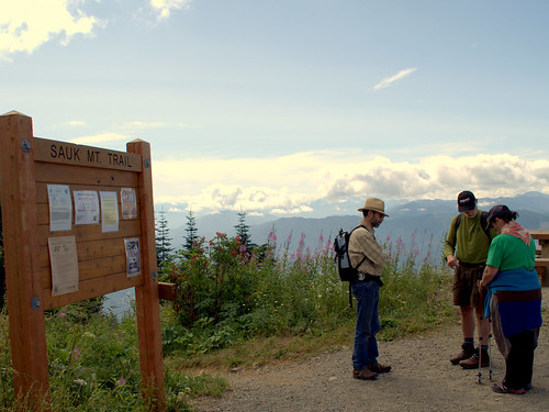 Jim, Don, & Cherie at Sauk Mt. Trailhead | by Cascadian Farm