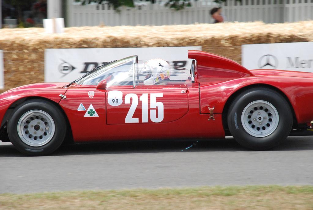 Alfa Romeo Tipo 33 Periscopica 1966 2 0 Litre V8 Flickr