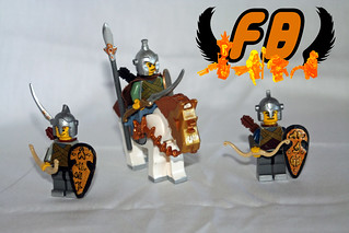 Lego Elf group | by Brick Mercenaries Custom Minifigures