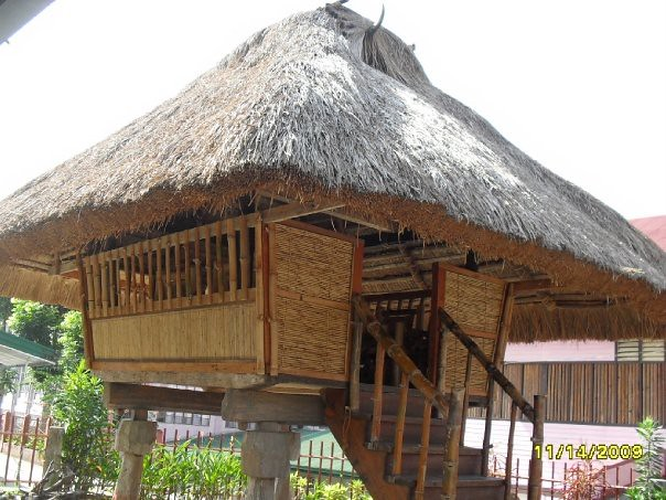 Bahay kubo ifugao style mademoiselle pg19 flickr for Typical filipino house design