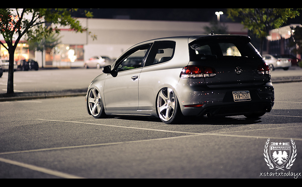 Bagged mk6 GTI | Stan's beautiful mk6 GTI bagged and sitting… | Flickr