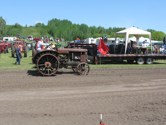 Antique Tractor Steel Wheels : Antique steel wheel tractor flickr photo sharing