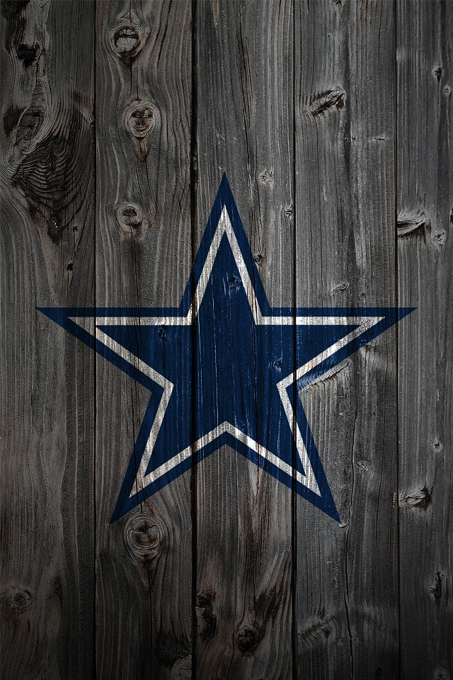 Dallas Cowboys Wood IPhone 4 Background