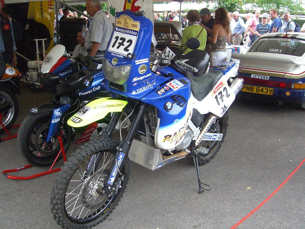 Bmw F650 Gs Dakar Rally 2005 Single Cylinder 652cc 4 Strok