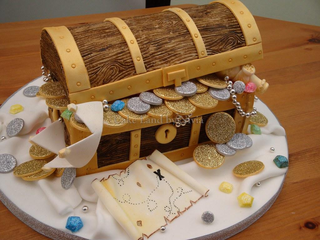 Treasure Birthday Cake