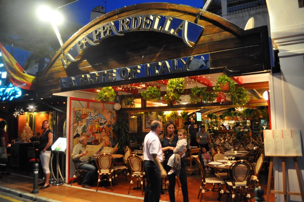 Restaurante la pappardella puerto banus marbella flickr - Restaurante noto marbella ...