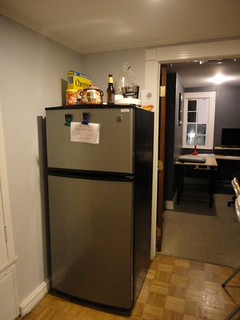 full size fridge with freezer | by conjunctured