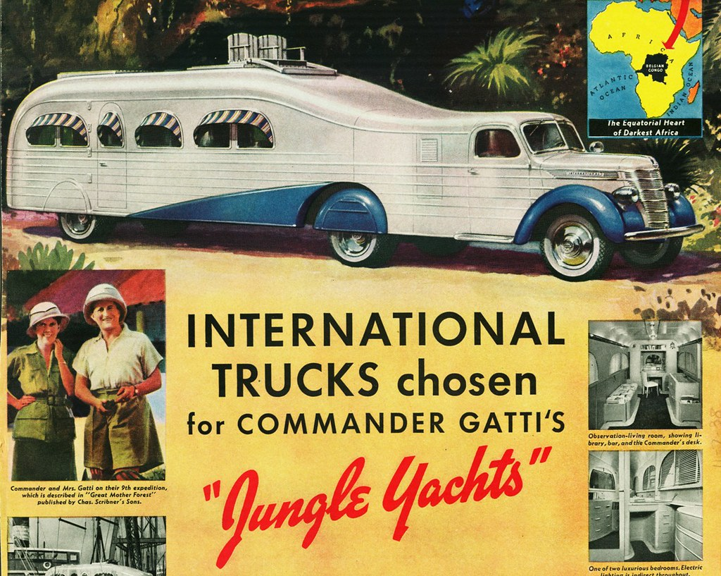 1939 International Jungle Yacht Truck Commander Gatti