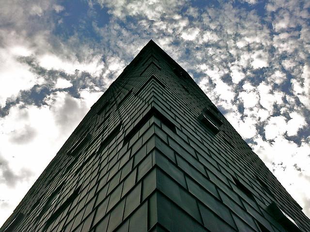 Arquitectura Futurista Ngulo Me Recuerda Un Poco Al