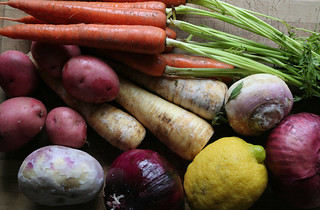Root Vegetables and Lemon | by Sharon Mollerus