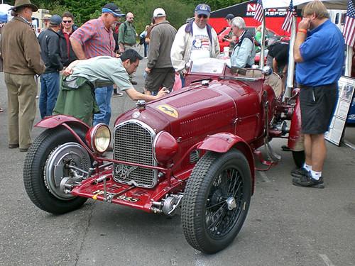 Alfa Romeo Vintage Race Car