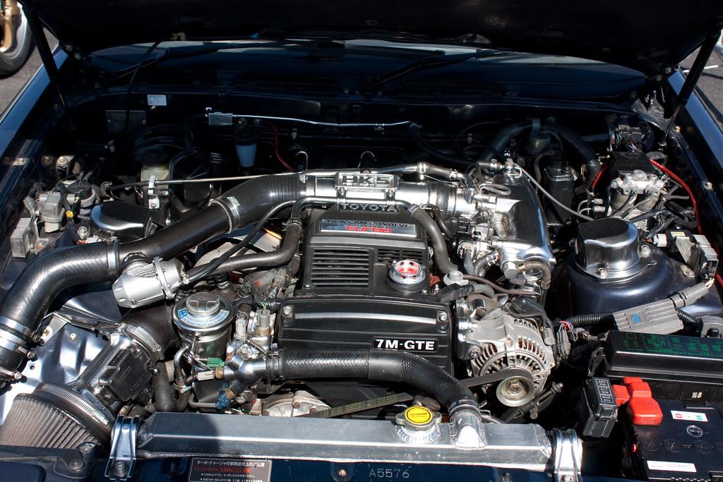 Toyota Supra Engine Bay Maddah Mayhem Flickr