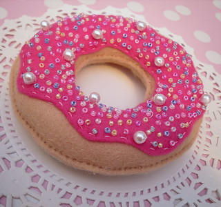 Felt doughnut decoration | by Sew Sweet