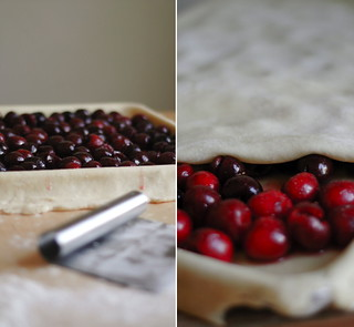 sweet & sour cherry slab pie | by TheSophisticatedGourmet