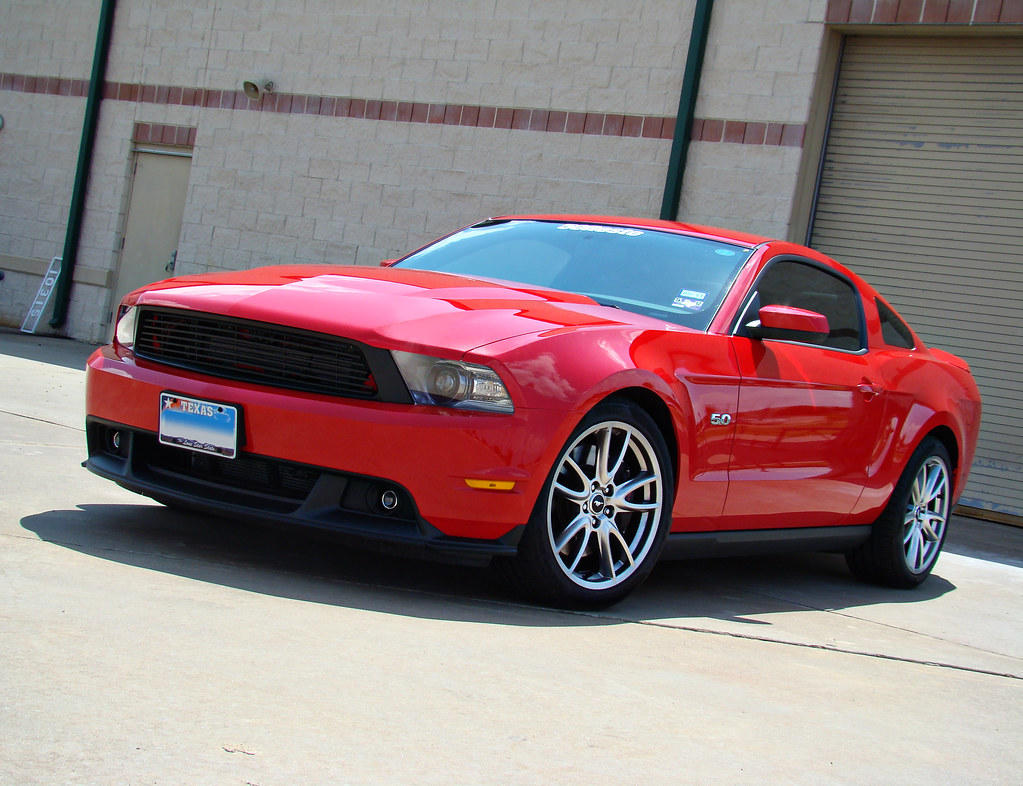 Red 2011 Ford Mustang Gt 5 0l With California Special Gril