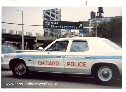 chicago police car circa 1980 image from a large collectio flickr. Black Bedroom Furniture Sets. Home Design Ideas