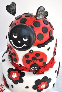 Lady Bug 0122 KIDS | by thecakemamas
