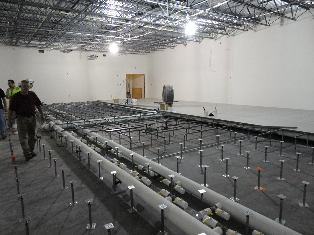 Data Center Raised Floor Installation | Data Center raised ...