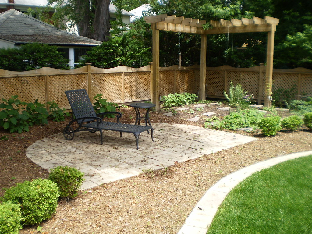 Backyard Landscape Ideas | A backyard oasis was created in ... on Affordable Backyard Ideas id=73491