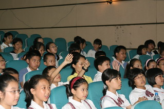 Student audience at May 22 AYV workshop in Shenzhen | by iEARN-USA