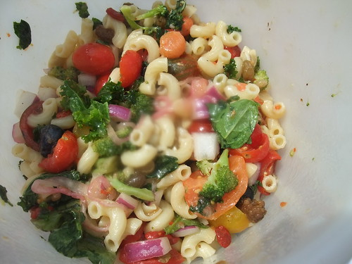 Vegan Pasta Salad | by swampkitty