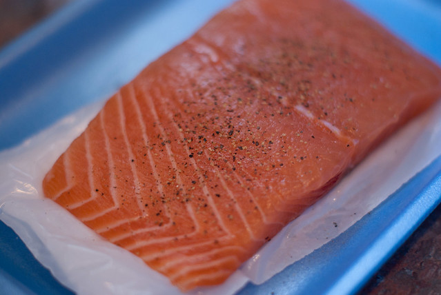 Salmon Dinner-2 | Flickr - Photo Sharing!