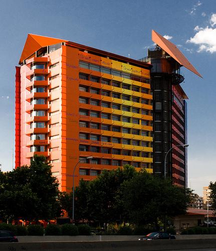 Hotel silken puerta america madrid spain copyright for Hotel silken puerta america plantas