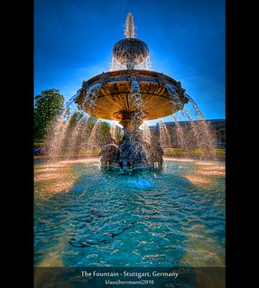 The Fountain - Stuttgart, Germany (HDR) [Explored] | by farbspiel