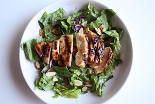 Grilled Raspberry-Chipotle Chicken Salad | by alanagkelly