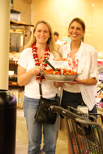 Roxanne Tiffin and Elyse Ditzel | by Slow Food Maui
