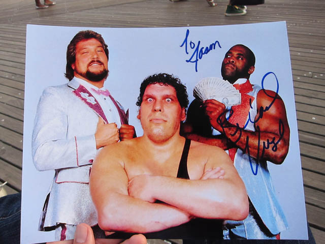 31 Autographed Wwf Virgil Photo Me So Hungry Food Blog