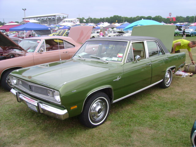 1969 Plymouth Valiant Value 1969 Plymouth Valiant