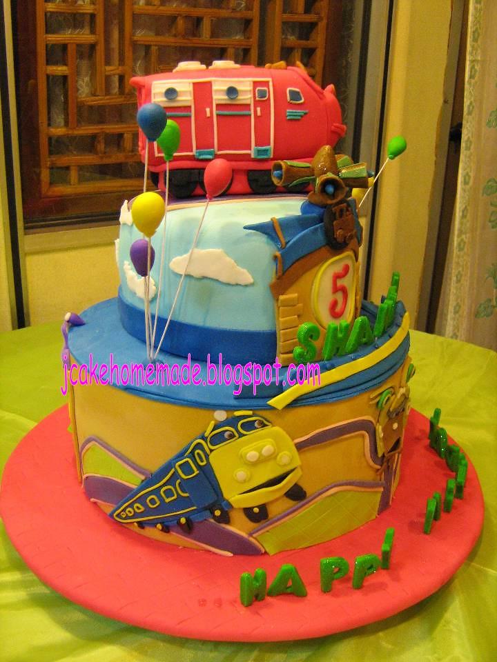 Chuggington Birthday Cake Pan