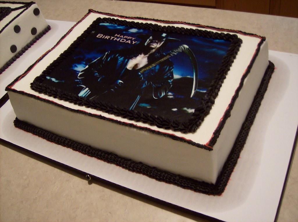 Wwe Undertaker Birthday Cake Pams Homemade Cakes Flickr