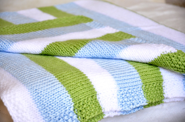 knit baby blanket | Flickr - Photo Sharing!