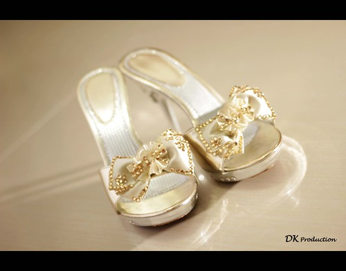 One of Ning's Wedding Shoes | by DK Fung