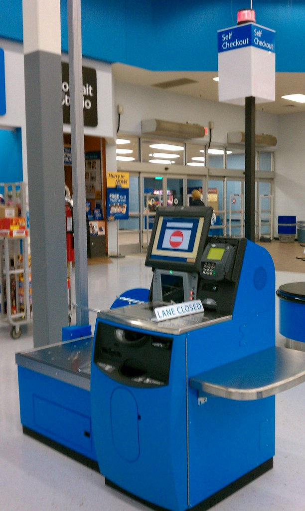 Wal-Mart - Fort Dodge, Iowa - New Self Checkout | The newer … | Flickr
