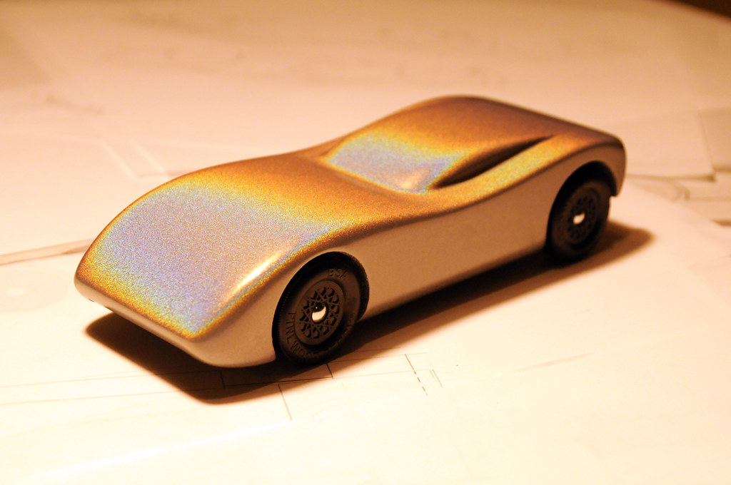 2010 Pinewood Derby Car (step 19, finished car) | Final car.… | Flickr