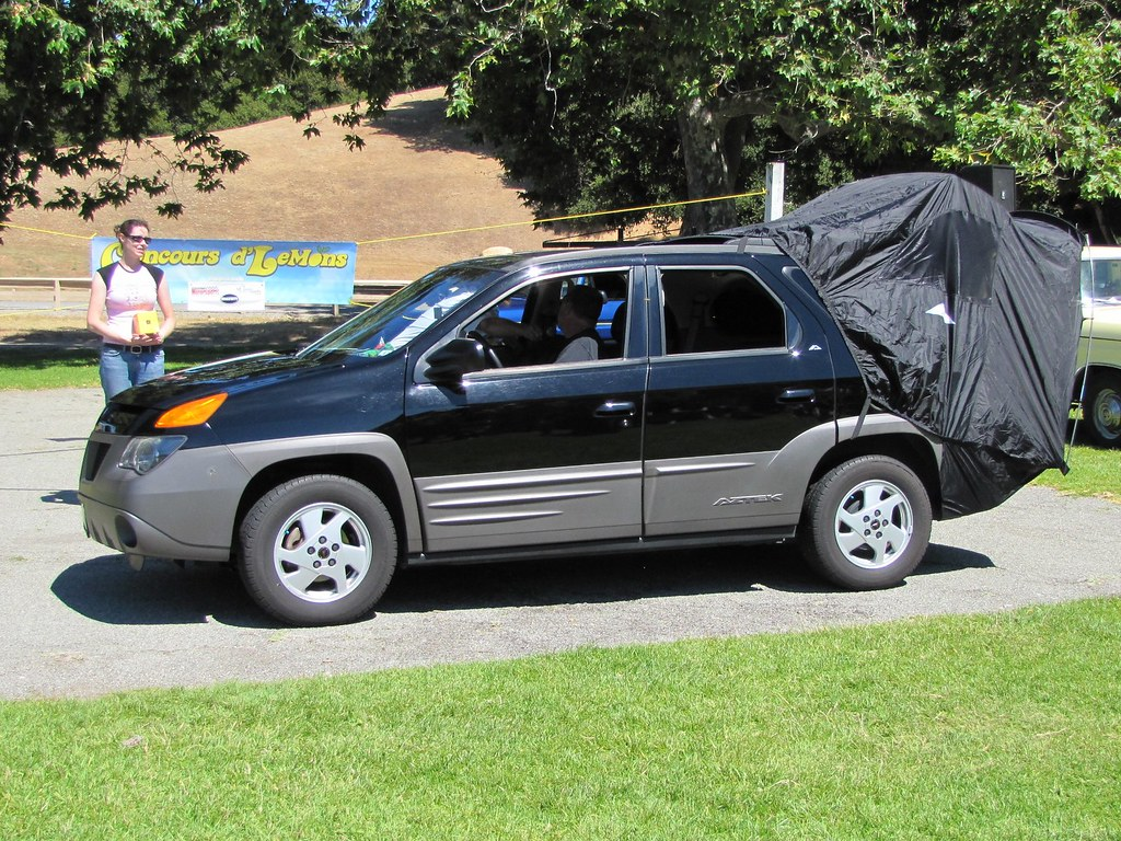 Pontiac Aztek Tent Autos Post