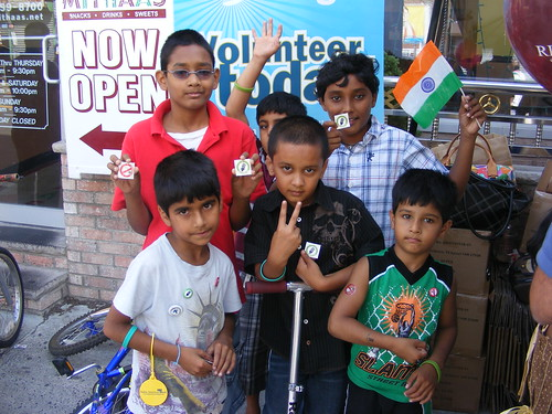 Project Porchlight at India Day in Jersey City, NJ | by One Change