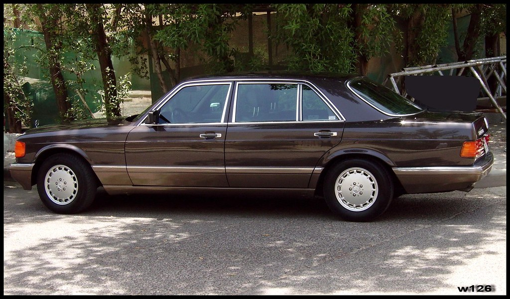 Mercedes benz w126 1987 560sel w126 jassim albaloul for Mercedes benz w126