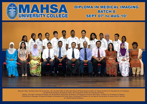Class of 2010 Batch 8 MAHSA university college | by thundho - nadu - andhu
