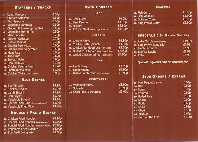 Turnpike Cafe Menu Canton Ma